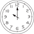 It is 10 o' clock   (il est 10 heures)